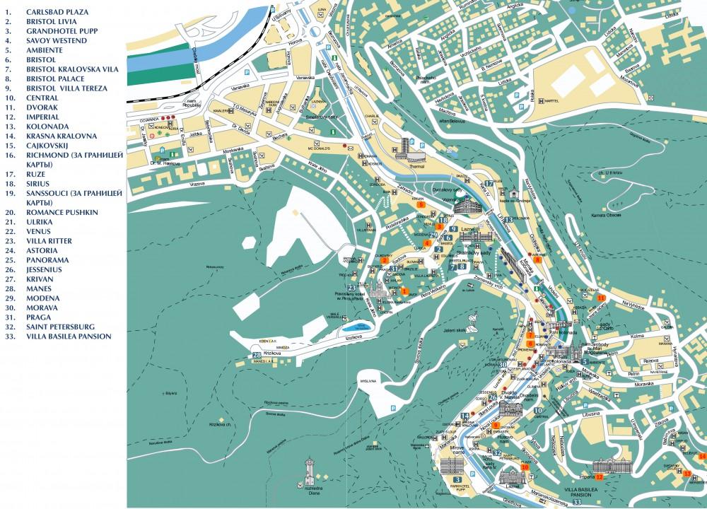 Karlovy Vary Petra Velikeho 16