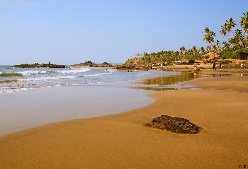 гоа пляж ашвем фото