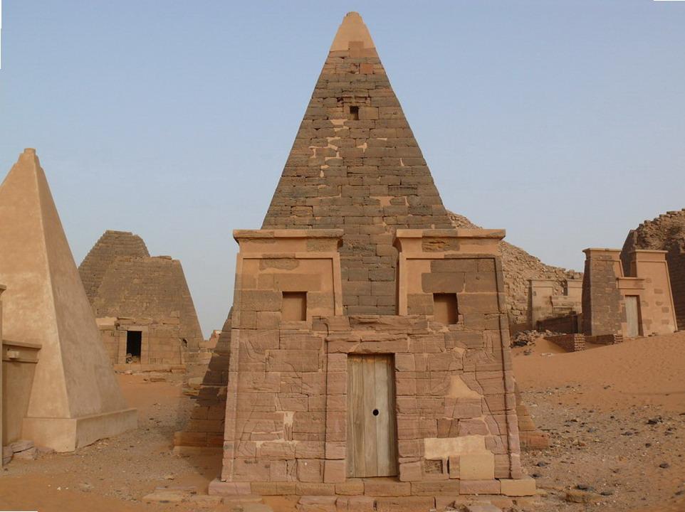 пирамиды Мэроэ 2