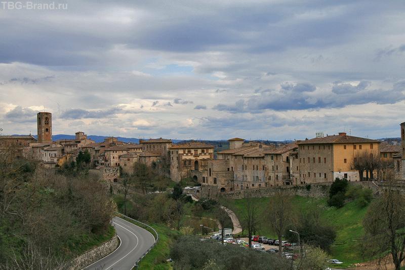 По Тоскане на машине