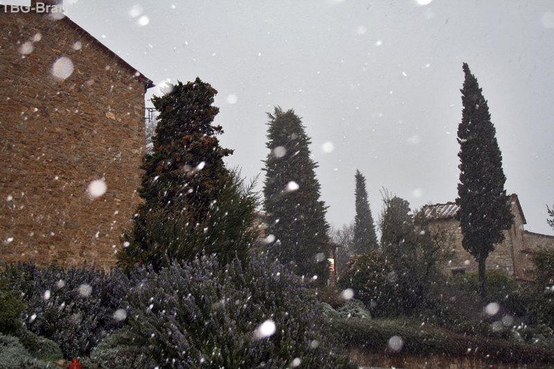Сиена и Кьянти. Снег в марте.