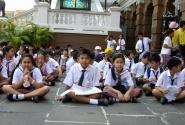 тайские школьники