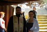 С арабским православным священником