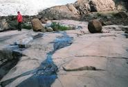 Эти скалы отполировал ледник Корыто