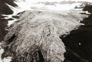 Ледник Корыто в анфас. Фото 1997 г.