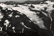 Ледники Корыто и Поле Маркова в 1984 г. Фото Я.Д.Муравьева