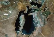 Арал из космоса (Google Maps)
