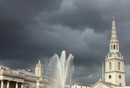 Любимый фонтан на Трафальгарской площади