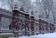 В Лондоне - снег!