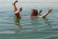 В Мертвом море - не утонешь