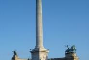 Монумент в честь 1000-летия Венгрии на Площади героев