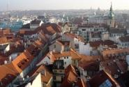 Вид Праги со Староместской ратуши