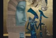 Возвращение в Египет. Ткань, акварель. Автор: Ю. Гукова