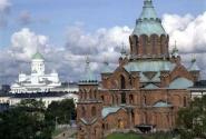 Успенский православный и Кафедральный протестантский