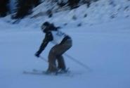 Ответственый день -соревнование по горным лыжам