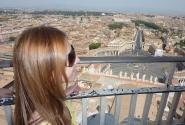 Добраться до Ватикана и оценить титанические масштабы собора - программа обязательная )