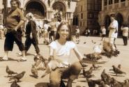На площади Сан-Марко кормим голубей - все, как полагается!