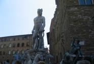 Фонтан «Нептун» на площади Синьории