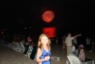 Новый год... под пальмами и на пляже