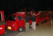 Вне правил безопасности… (местное тайское такси тук-тук…)