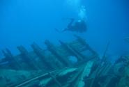 Затонувшее сафарийное судно