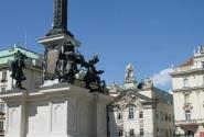 Площадь в Вене... одна другой красивее!