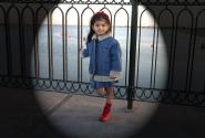 Маленькая арабская принцесса. Тоже желает принять участие в конкурсе.