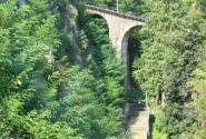 канатная дорога - вид сбоку