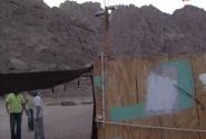 Спутниковая антенна в хижине бедуина