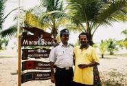 Они трудятся в Marari Beach.