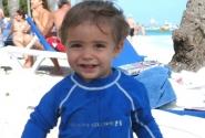 Маленький купальщик!(Доминикана 2006)