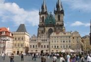 Башни костела Девы Марии перед Тыном(Старогородская Площадь)