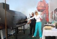 барбекю из аргентинской говядины на корабле!!!!!!