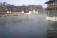 Самое большое термальное озеро в Европе