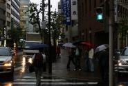 Город зонтиков