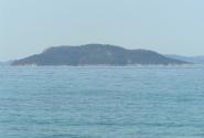 остров Черепаха был виден с пляжа