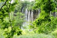 Плитвицы - водопад 18 м.