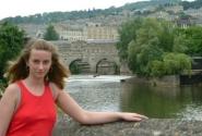 визитный фон города Bath