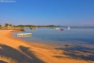 утро на пляже Маврикия