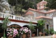 Православная часовня в горах