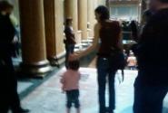 Фото Ирмы. Французы на выставке (были даже совсем с младенцами, не удалось снять!)