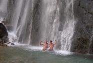 Гекский водопад,t воды 0