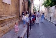 Улицы Прованса. У консерватории