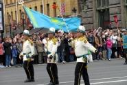 Бравые Казахские знаменосцы