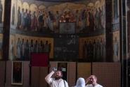 Новоафонский Симоно-Кананитский монастырь. Паломники.