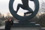 Самая популярная статуя Гюстава Мигеланда