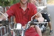Наш красавец-мотоцикл