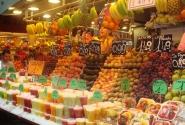 Фруктовый рай рынка Бокерия