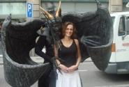 Живые статуи на Las Ramblas