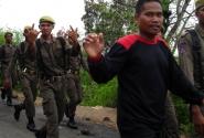 нас приветствует индонезийская армия